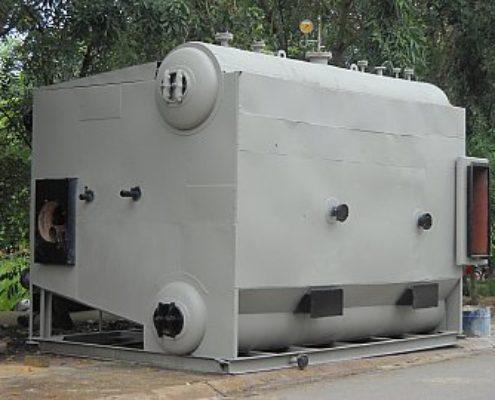 Lò hơi chuẩn bị đưa vào vị trí lắp đặt  cho công ty Giấy Hoàng Nguyễn- Đồng Nai