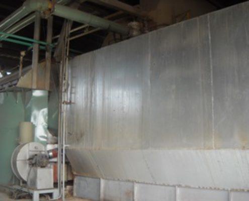 Lò hơi được chế tạo lắp đặt và cung cấp hơi nước bão hòa cho nhà máy Giấy Sài Gòn Mỹ Xuân - Bà Rịa Vũng Tàu với công suất làm việc 15 tấn hơi/giờ/lò